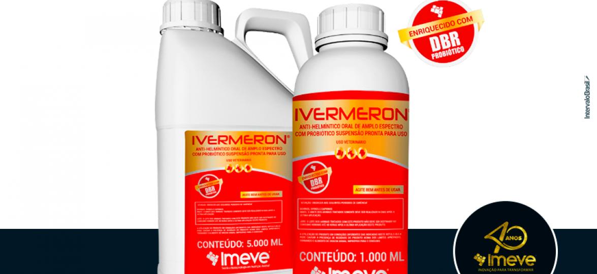 IMEVE associa albendazol e probiótico num só produto